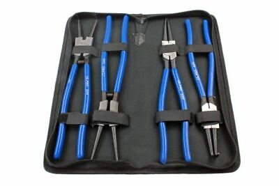 "4pc 12"" Circlip Pliers Set - Internal - External - Straight -Bent By Bergen 1728"