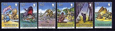 Alderney 2007 Just So Stories set fine fresh MNH