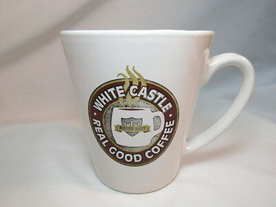 Vintage White Castle Real Good Coffee Mug Tea Cup 2001 You Crave Advertising