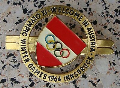 Welcome in Austria. IX Olympic  Winter Games 1964 Innsbruck