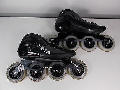 Vanilla VNLA Carbon speed inline skates Black sz 12 normally $249