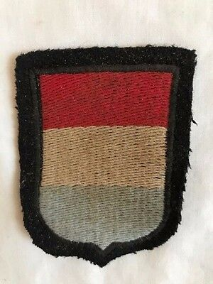 Ww2 German Elite National Sleeve Shield Patch Of The Netherlands Volunteer