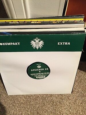 "20 x Techno 12"" vinyls All in VG condition (Drumcode,Kompakt Extra)"