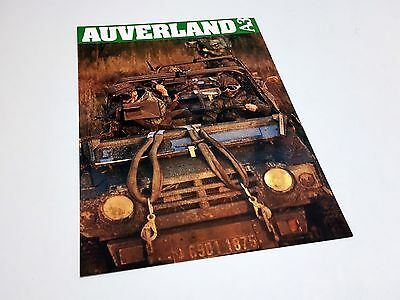 1992 Auverland A3 SL Military Information Sheet Brochure - French