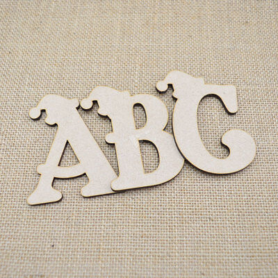Individual Mini Small Belshaw Wooden MDF Letters /& Numbers Alphabet 3mm Thick
