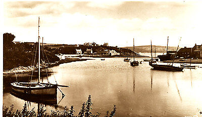 CAERNARVONSHIRE - RP Postcard of The Harbour, ABERSOCH