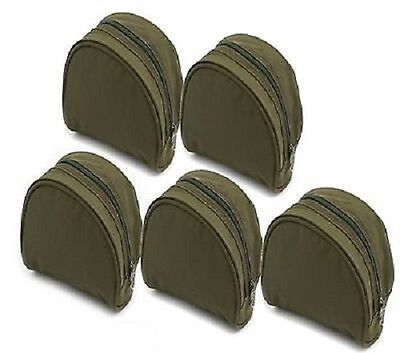 Brand New Olive Green Padded Reel Cases For Coarse / Carp / Match / Sea Fishing