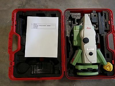 """Leica TS11 3"""" TOTAL STATION FOR SURVEYING"""