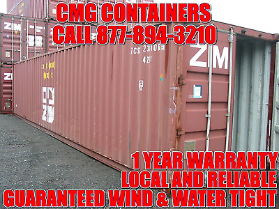 40' Shipping Container / Storage Container / 40' Shipping Container / Chicago