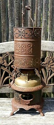 19th Century Kerosene Ser.C Antique Ornate Heater Stove * Pick Up Only