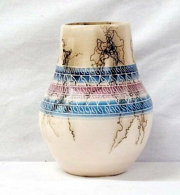 Native American Horse Hair Pottery, Signed