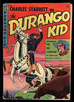 Durango Kid (1949) #23 1st Print 1st App Red Scorpion Fred Guardineer C/A GD/VG
