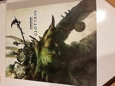 Warhammer End Times Glotkin Hard Cover Books (2 Books)