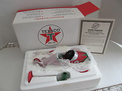texaco collectible pedal plane 1999 sky chief new in box die cast  bank