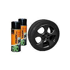 Spray Film FOLIATEC kit 2 aérosols de 400 ml noir mat