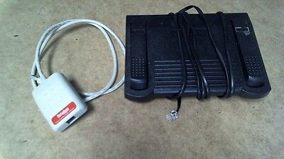 Dictaphone Nuance USB Adapter 0148649 & Foot Pedal 0502765