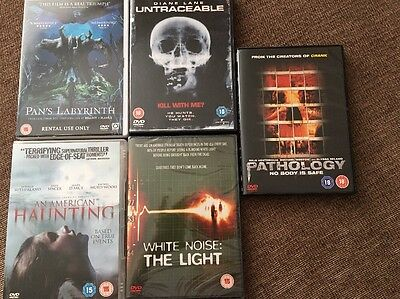 Horror Dvd Bundle X5