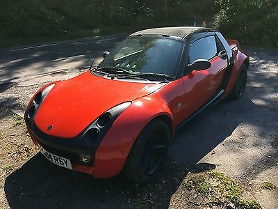 Smart Roadster 2004 Red and Black - 0.7 Turbo - paddleshift - convertible