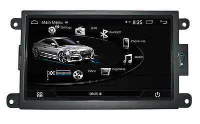 Autoradio Navigatore Audi A4 Q5 A5 Multimediale Bluetooth Android