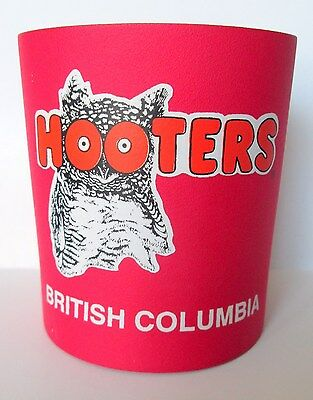 Hooters Can Koozie Coozie Insulated Holder British Columbia