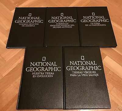 5 Libros National Geographic