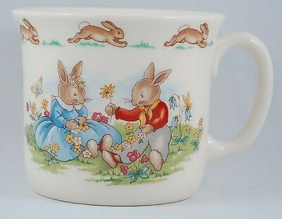 Royal Doulton 1936 Courting Bunnykins Collectible Fine Bone China Cup