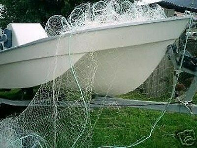 "GRABALL GILL NET  5 1/2"" x 25mtr x 3mtr x 21lb SINGLE STRAND MONO TASMANIA LEGAL"