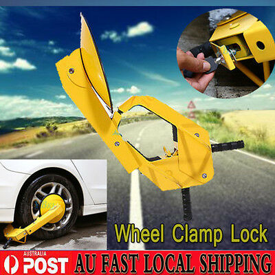 Ultra Security Safety Anti-Theft Devices Wheel Clamp Disc Lock Car Vehicle CHIC
