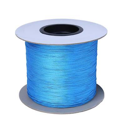 10m 2mm Wear Resistance Arborist Tree Climbing Throw Line Rope Paracord Blue