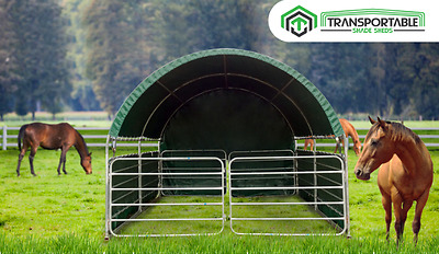 Horse Stable with Panels on SALE!!!!