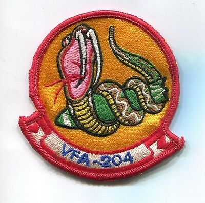 VFA-204 RIVER RATTLERS US NAVY RESERVE F-18 HORNET Fighter Squadron Jacket Patch
