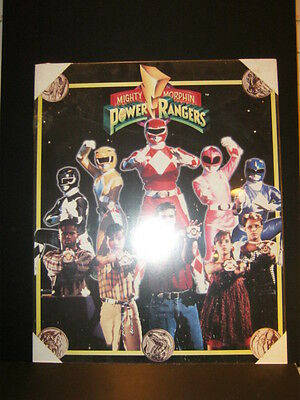Vintage Power Rangers Poster- New in Plastic - Ready to Hang- Last in Inventory