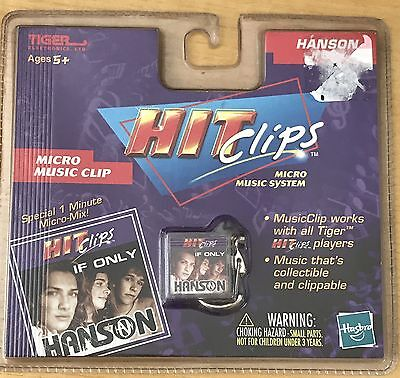 Tiger Vintage Hit Clips MICRO PERSONAL PLAYER HANSON if Only Hasbro New!!