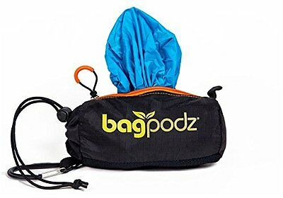 BagPodz Reusable Bag and Storage System - Caribbean Blue (Contains 5 Bags)