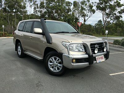 2008 Toyota Landcruiser Auto V8 Diesel GXL Beige Automatic 6sp A Wagon