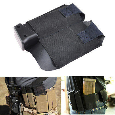 Belt Double Pistol Magazine Pouch For Two single or Double Stack Pistol Mag
