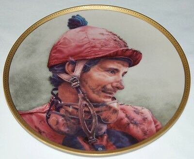 """Fred Stone Painting """"The Shoe"""" 8000 Wins Plate Horse Racing Collectible #2276"""