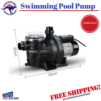 1.6HP Swimming Pool Pump 1200W Electric Outdoor Spa Pool Pump Filter Salt Water