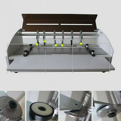 220V Business Card Electric Creasing Machine Indentation Machine Cutter Function
