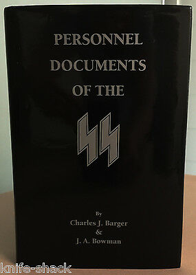 PERSONNEL DOCUMENTS OF THE SS - Limited Edition & Signed by Authors