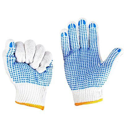 Anti-slip Gloves With Rubber Dots Hand Protective Gloves For Labor Working LN