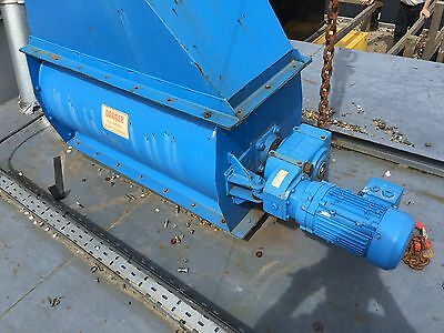 Rotary Valve for Dust Extraction System / Biomass Bunker - Air Plants RV350x1000