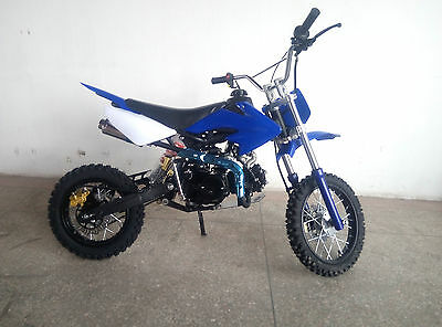 dirt bike 125 ccm 14 12 r der cross vollcross pocketbike. Black Bedroom Furniture Sets. Home Design Ideas