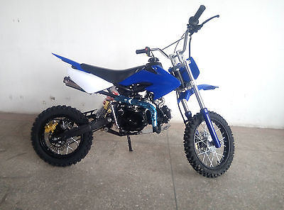 "Dirt Bike 125 ccm 14/12 Räder MIT E-STARER"" Cross Vollcross Pit 125cc pocket"