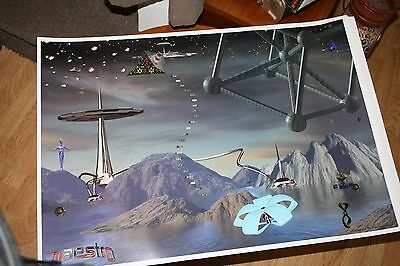mike oldfield maestro poster
