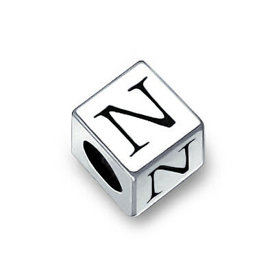 BLING JEWELRY 925 Sterling Silver Block Letter B - $14 99 | PicClick