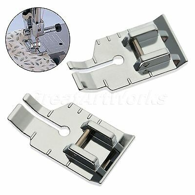 "0.67""*1.18"" Domestic Sewing Machine Parts 1/4"" Quilting Presser Foot For Brother"