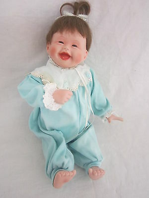 Kathy Hippensteel My First Tooth Baby Doll Porcelain Ceramic Collectable
