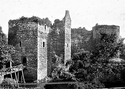 Photographic Glass Slide Rothsay Castle Isle Of Bute Scotland 1899