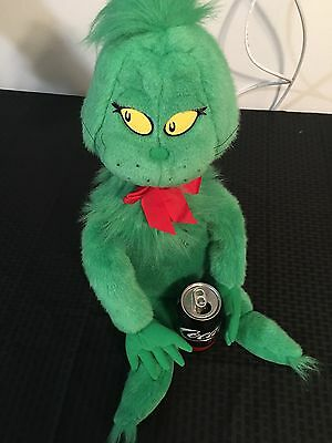"""Dr Suess's """"the Grinch"""" X-Large Plush"""